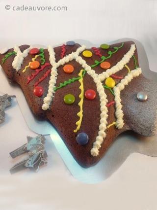 Gateau De Fete De Noel.Moule Silicone Pour Gâteau En Sapin De Noël Cadeauvore Com